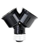 SUNLITE E186 Medium Base Y Socket Adapter Splitter - $24.00