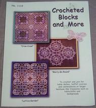 Crocheted Blocks and More No. 1119 Yesterdazes - $7.43