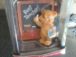 American Greetings Best Teacher  Ornament  2007 - $9.89