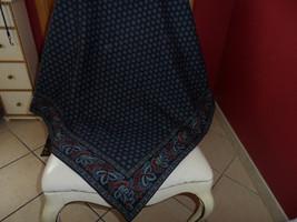 "Vera Bradley classic Navy tablecloth 48.5"" x 48.5"" - $35.00"