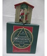 Christmas Hallmark Keepsake 1988 Our Clubhouse Ornament - $6.79