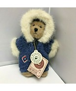 Boyds Bears Inga Eskimo Snowsuit Parka Hood Plush Stuffed Bear 8″ - $39.99