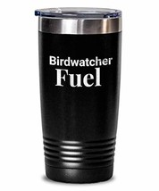 Birdwatcher Fuel Water Tumbler Insulated Stainless Steel Thermos for Men... - $32.66