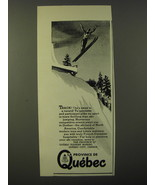 1947 Quebec Canada Ad - Track! He's away to a record! - $14.99