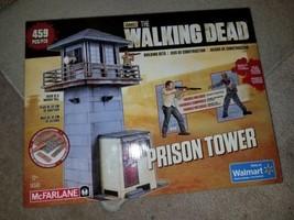 McFarlane Toys The Walking Dead PRISON TOWER Walmart Exclusive Set open new - $29.99