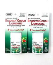 ROBAFEN Dextromethorphan Cough Gels Cough 8hr R... - $9.88