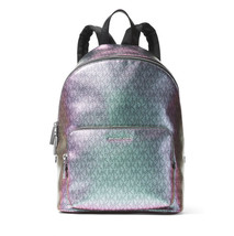 MICHAEL KORS Wythe BACKPACK Logo Iridescent BOOKpack  TRAVEL $328 NWT - $163.35