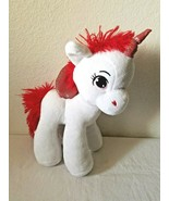 Hobby Lobby Alicorn Plush Stuffed Animal White Red Unicorn Pegasus  - $29.68