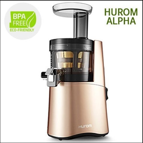 Genuine New Hurom Alpha H AA Series Cold Press Juicer Machine Healthy Diet Rose