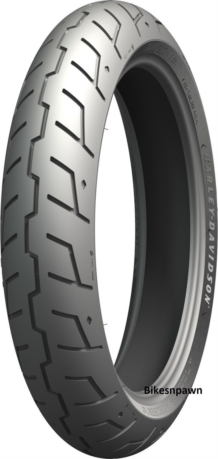 Radial 120/70R17 Michelin Scorcher 21 Harley Davidson Front Tire 56V Motorcycle