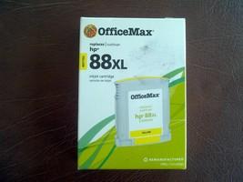 HP 88XL  OfficeMax  Inkjet Cartridge C9393AN Yellow  - $26.70