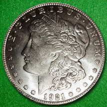 1921D US Morgan Silver Dollar in Great Condition - $24.99