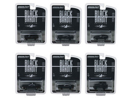 Greenlight Black Bandit Series 20 Set of 6 Cars 1/64 Diecast  - $52.46
