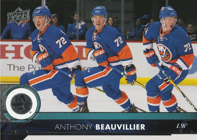 2017-18 Upper Deck #120 Anthony Beauvillier