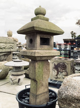 Oribe Gata Ishidōrō, Japanese Stone Lantern - YO01010185 - $4,524.82