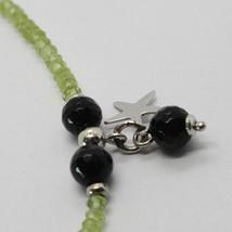 Bracelet en Argent 925 Avec Péridot Vert Onyx Et Pendentifs À Étoiles image 2