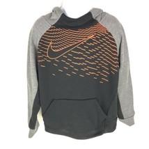 Nike Kids Hoodie Sweater Black Orange 7 - $19.79