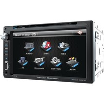 """Power Acoustik PD‐651B 6.5"""" Double-DIN In-Dash LCD Touchscreen DVD Receiver  - $162.26"""