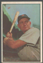 Boston Red Sox George Kell 1953 Bowman Color Baseball Card 61 vg/ex - $32.00
