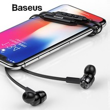 Baseus S06 Neckband Bluetooth Earphone Wireless earphones For Xiaomi - $27.28+
