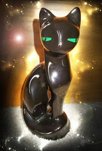 HAUNTED CAT FREE W ANY HALLOWEEN COLLECTION CLEAR BLOCKS OPEN COMMUNICAT... - $0.00