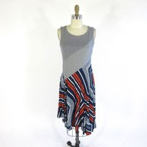 S - MAEVE Anthropologie Red White Navy Sleeveless Cameron Dress 0000MB - $45.00