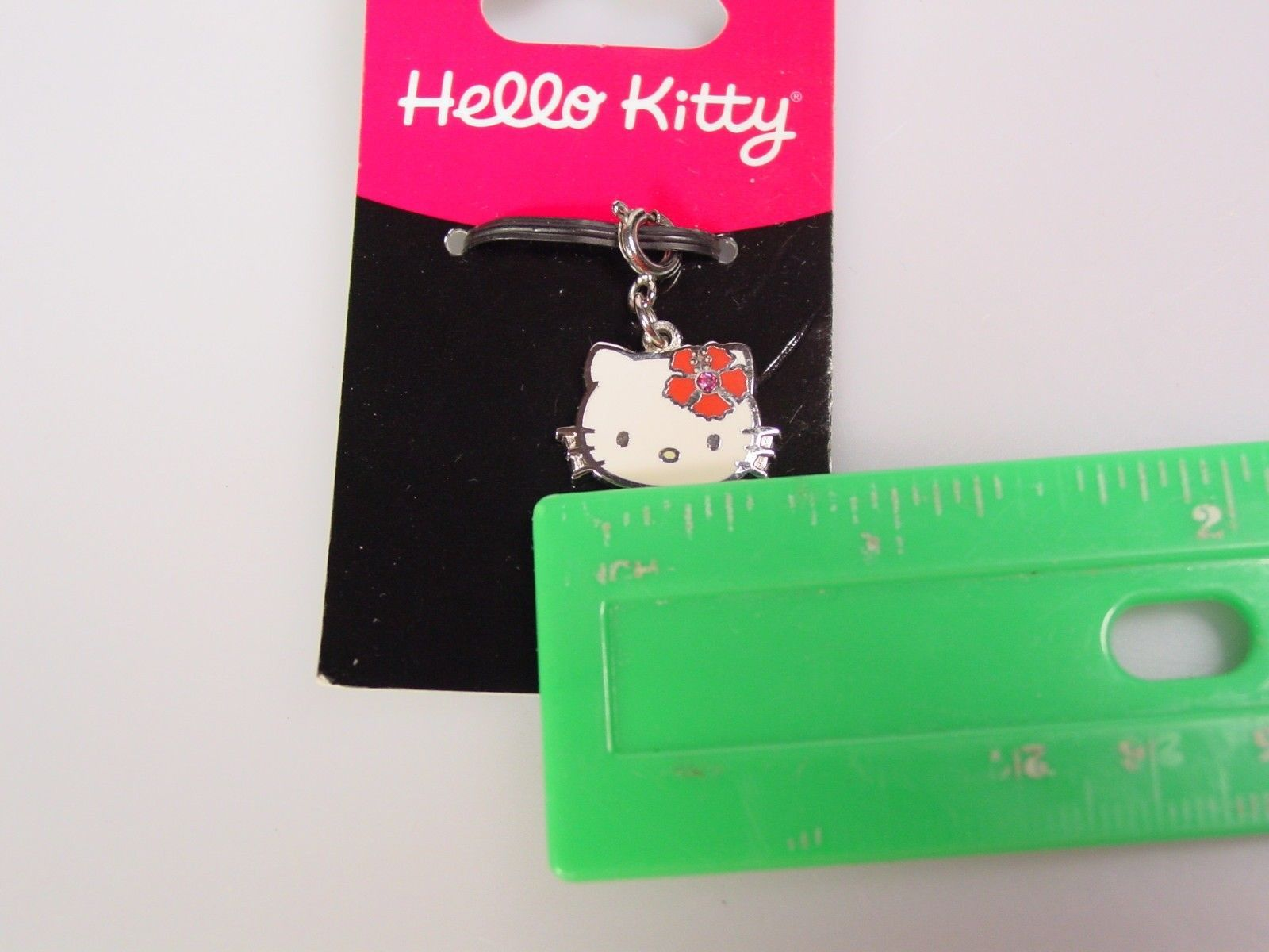 Hello Kitty pendant charm zipper pull Stocking stuffer secret santa Christmas