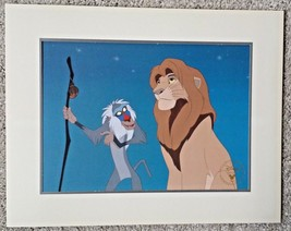 Disney's Lion King  1995 Commemorative Lithograph from the Disney Store - $7.92