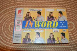 Vintage 1972 Milton Bradley InWord Board Game 4205 Complete - $10.64
