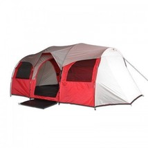 10 Person Tent for Camping, Red or Blue Large C... - $249.99