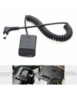 Dummy Battery Pack Coupler Adapter DC Male Connector Sony A7 Power Coile... - $15.83