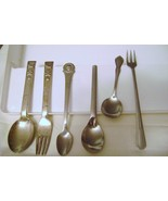 Silverplate Spoons- Oneida Gerber / EPNS Fork & Spoon /Siguard Person Je... - $12.00