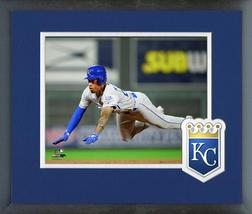 "Adalberto Mondesi 2018 KC Royals ""Sliding"" -11x14 Team Logo Matted/Frame... - $43.95"