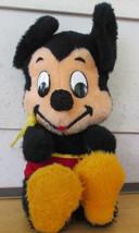 "Vtg 1960s MICKEY MOUSE Walt Disney Stuffed Animal Doll 17"" Fuzzy Plush - $6.80"