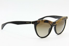 65f65f6d040fd New Prada Spr 06P MA5-6S1 BLACK TAN Gradient Authentic Sunglasses SPR06P 54-