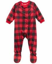 FAMILY PJS-MMG Infants Fleece Navidad Footed Pajamas - $10.99
