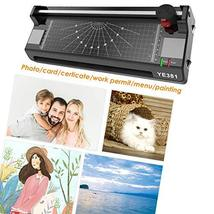 13 Inches Laminator Machine, A3 A4 A6 Thermal Laminating Machine for Home Office image 2