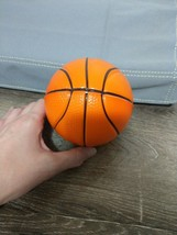 "Mini Foam Basketball 5"" Orange Sports Ball For Kids Indoor/Outdoor Playg... - $7.80"