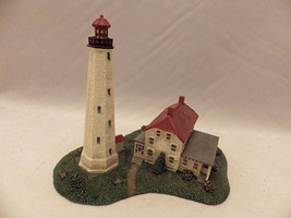 The Danbury Mint - Sandy Hook in NJ - Historic American lighthouses - 19... - $9.41