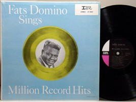 FATS DOMINO Sings million record hits ♪HEAR♪ 1960 STEREO LP Imperial LP1... - $6.99
