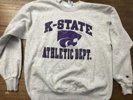 k-state sweatshirt vintage champion XL 90s - $21.38