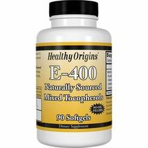 Healthy Origins Vitamin E - 400 LU Natural Mixed Toco Gels, 90 Count - $15.54