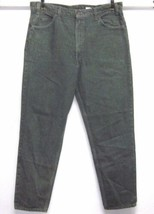 LEVI'S VINTAGE ORANGE TAB 550 RELAXED FIT TAPERED LEG W38 L32 GREEN JEAN... - $62.99