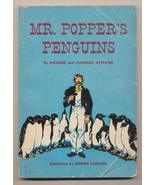 MR. POPPER'S PENGUINS by Richard and Florence Atwater /ILLUSTRATED FIRST... - $68.31