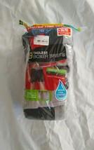 Hanes Men's Super Value 9pk Comfort Soft Tagless Gray Black Boxer Briefs... - $14.95