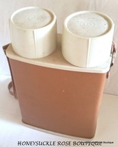 Mid Century Modern  Universal Landers Frary & Clark Double Thermos 1961 U.S.A. - $35.53