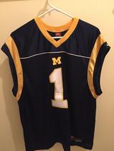 Michigan Wolverines Nike Team Sleeveless Jersey - $4.00