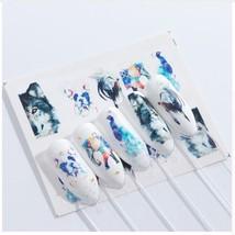 HS Store - 1pcs STZ664 Nail Stickers Water Transfer Sticker Cartoon Cute... - $1.34