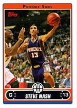 2006-07 Topps #110 Steve Nash NM-MT Suns - $1.00