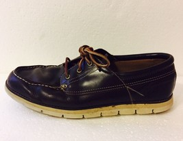 Timberland Sensorflex Brown Leather Loafers Boat Shoes Driving Mocs Size 13 M - $42.73